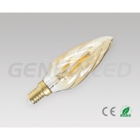 LED filament bulb E14 3W