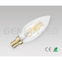 LED filament bulb E14 4W