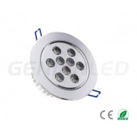 Downlight LED 9X1W