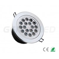 Downlight LED 18X1W