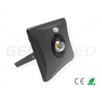 GREY 30W LED FLOODLIGHT WITH SENSOR
