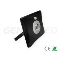 BLACK 30W LED FLOODLIGHT WITH SENSOR