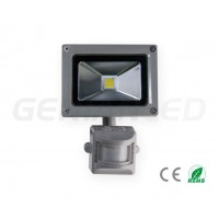 10W LED floodlight with sensor