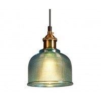 Green Crystal Tulip Pendant Light
