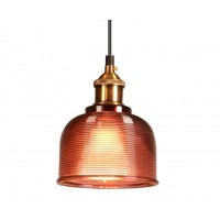 Red Crystal Tulip Pendant Light