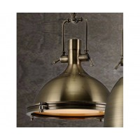 Pendant Light ANTIQUE Bronze D
