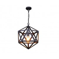 Iron Cage Pendant Light