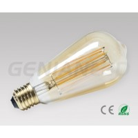 LED filament bulb E27 2W