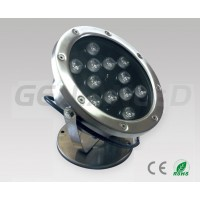 12W garden floodlight